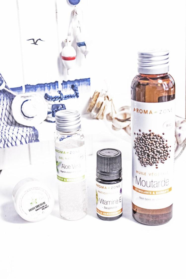 Haul Aroma Zone - Huile, gel d'Aloe Vera, Vitamine E
