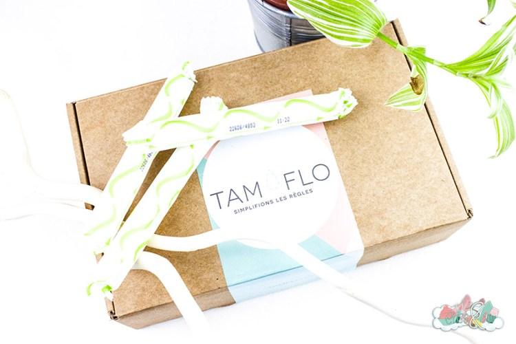 Tam Flo Box de Mars - tampons bio organyc