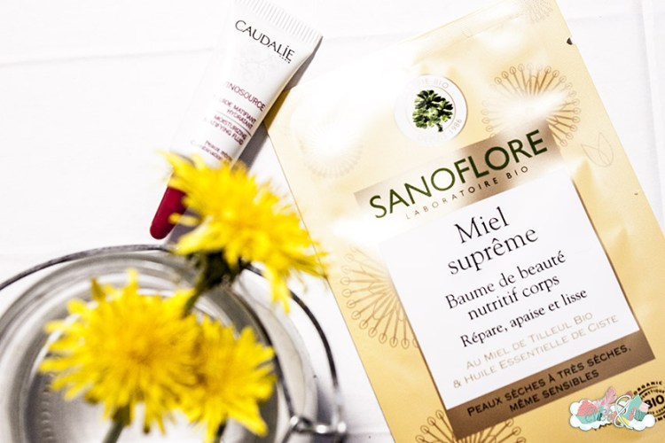 BlogBox de Pharmashopi - Echantillons Sanoflore et Caudalie - Elise&Co