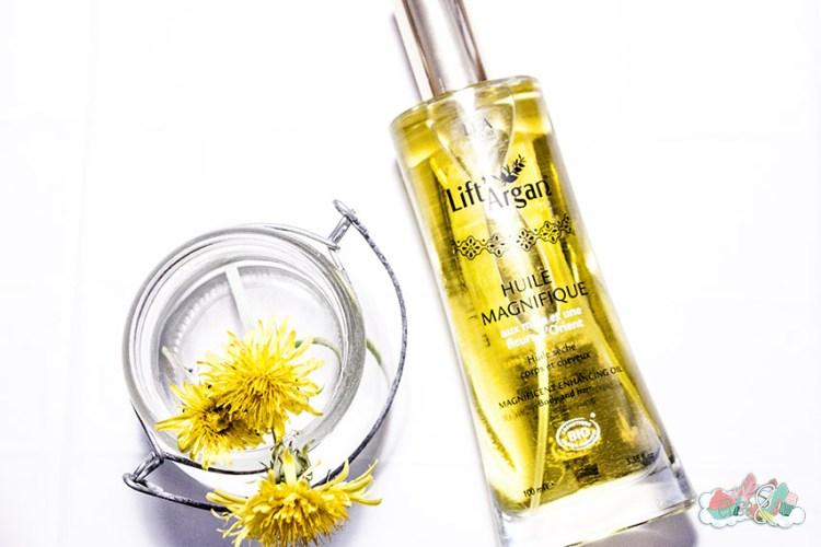 BlogBox de Pharmashopi - Huile Magnifique Lift' Argan - Elise&Co