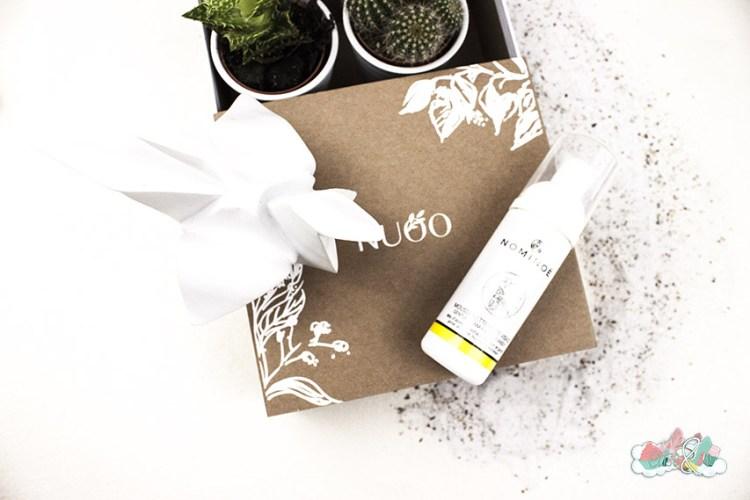 Découverte Nuoo Box Mousse Nettoyante Nominoë - Elise&Co