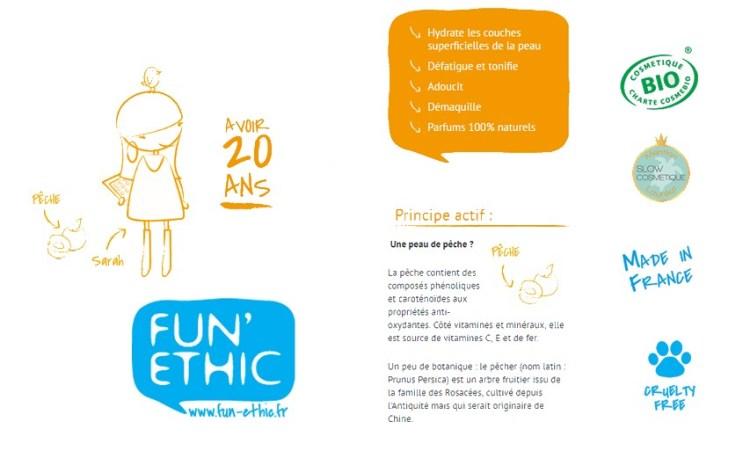 La crème de jour Fun'Ethic - Revue Elise&Co