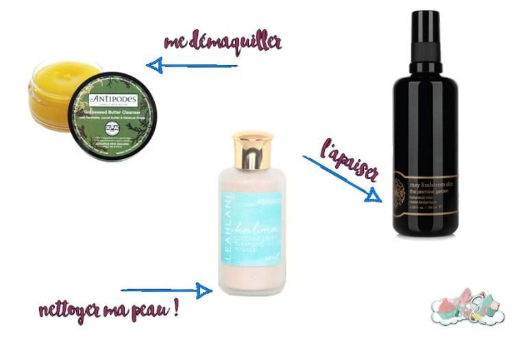 Green Luxe La routine visage de mes rêves - Démaquiller et nettoyer ma peau ! Elise&Co