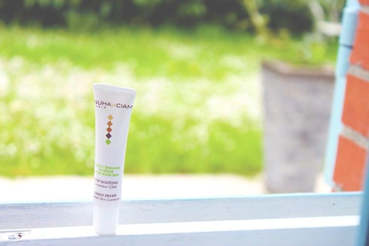 La routine anti-acné de Nuhanciam TOP ou FLOP-stop bouton-eliseandco