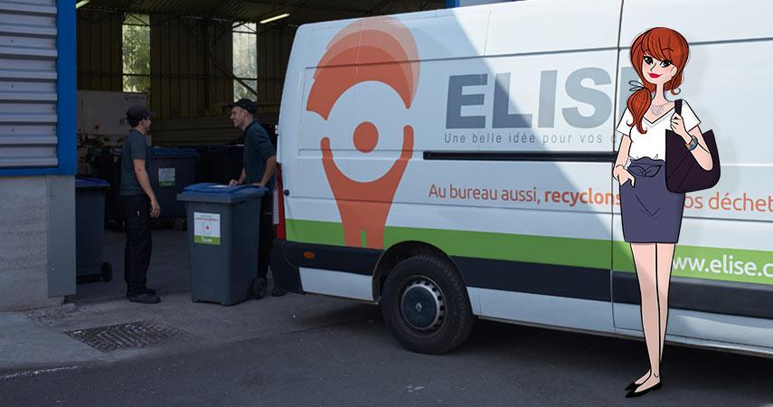 ELISE Bordeaux 33100 Recyclage Papier Dchets De Bureau