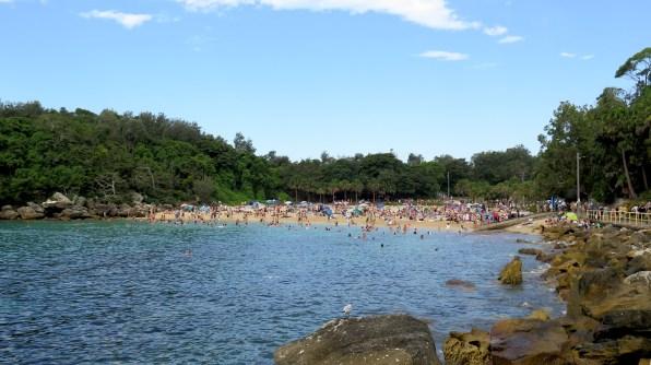 Sherlly Beach, juste un peu plus loin que Manly Beach, mais bien plus jolie