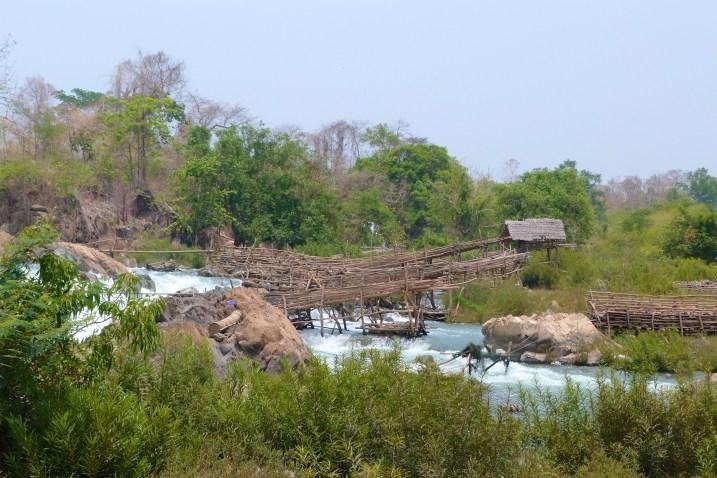 nasses à poissons 4000 iles laos blog voyage