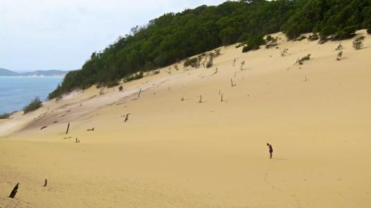 dunes rainbow beach