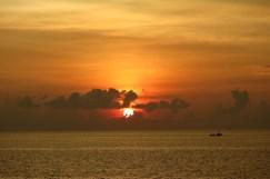 Coucher soleil Koh Rong Samloem Cambodge blog voyage 6