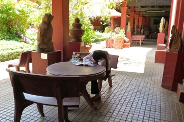 Sieste sport national Phnom Penh Cambodge blog voyage 11