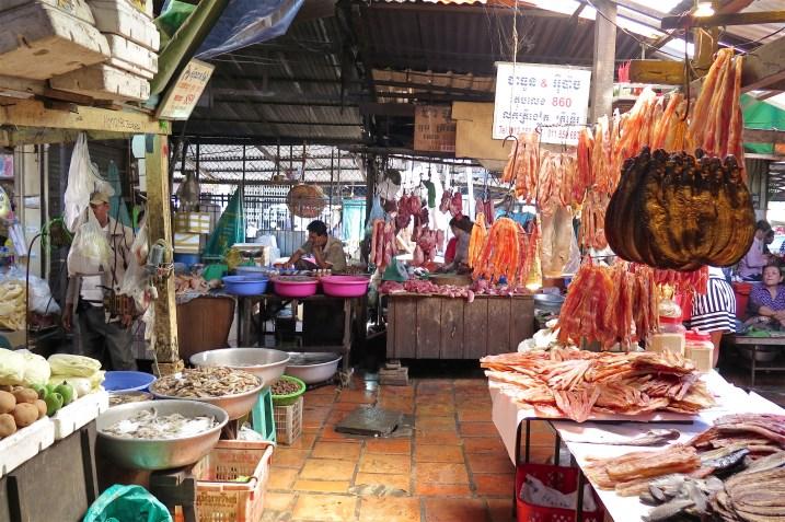 Marché russe Phnom Penh Cambodge blog voyage 16