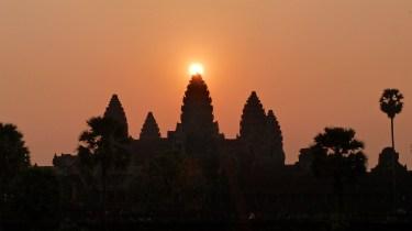 Lever de soleil Angkor cambodge blog voyage 42