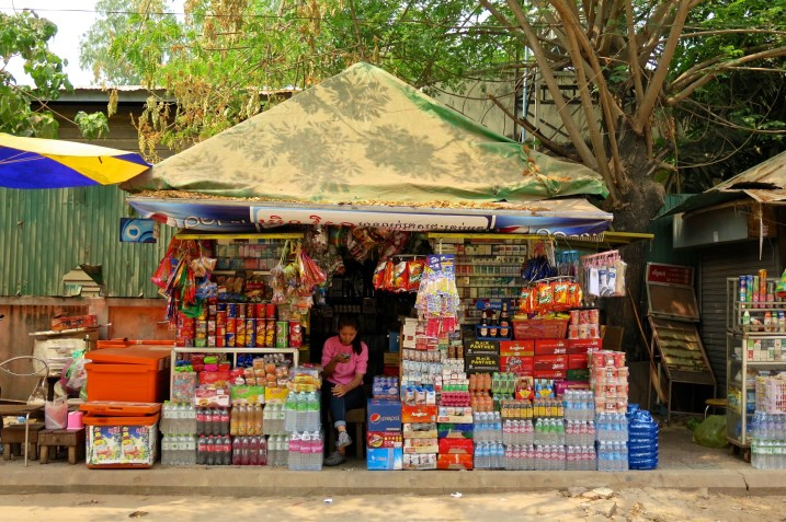 Épicerie de rue dans Siem Reap - Angkor cambodge blog voyage 5