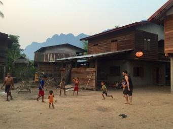 Foot bambou Kong Lor, bilan laos blog de voyage