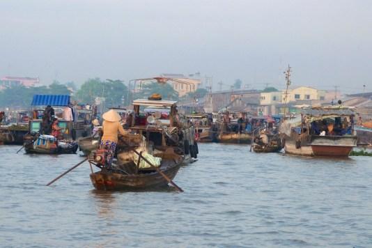 Marché flottant Cai Rang Can Tho Delta Mekong Vietnam blog voyage 2016 4