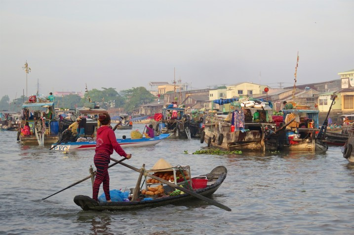 Marché flottant Cai Rang Can Tho Delta Mekong Vietnam blog voyage 2016 6
