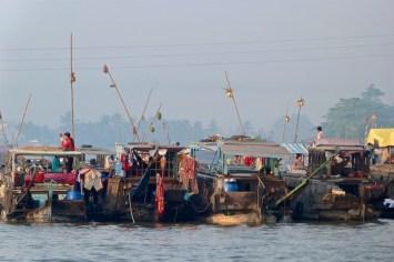 Marché flottant Cai Rang Can Tho Delta Mekong Vietnam blog voyage 2016 8