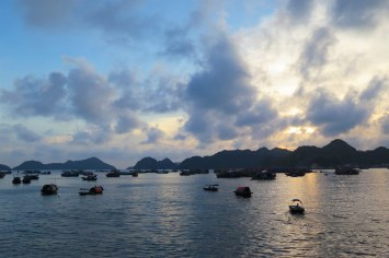 Port Cat Ba Baie Halong Vietnam blog voyage 2016 3