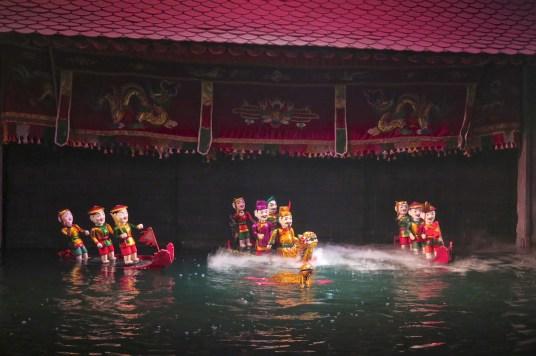 Theatre marionnettes sur l'eau Hanoi Vietnam blog voyage 2016 14