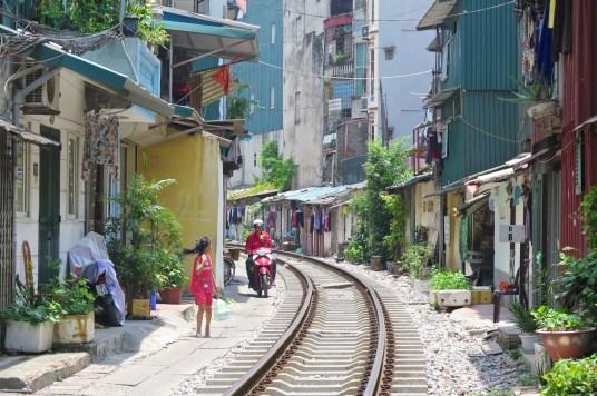 Voie ferrée Hanoi Vietnam blog voyage 2016 6