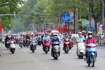 Scooter Hochiminh ville Vietnam blog voyage 2016 15