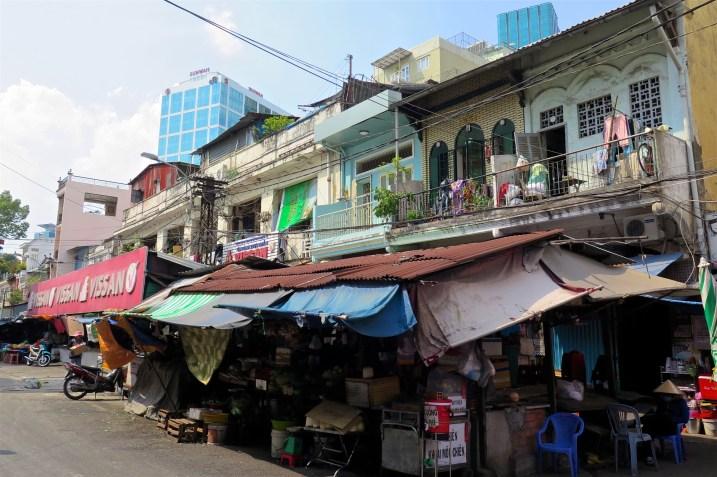 Marché de rue Hochiminh ville Vietnam blog voyage 2016 18