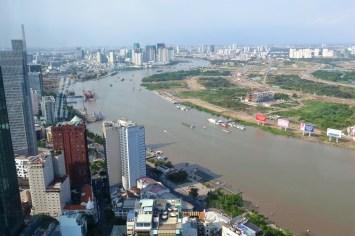 Vue coté Nord Hochiminh ville Vietnam blog voyage 2016 26