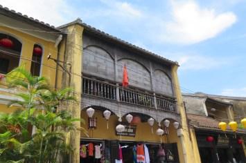 Maison dans les rues de Hoi An