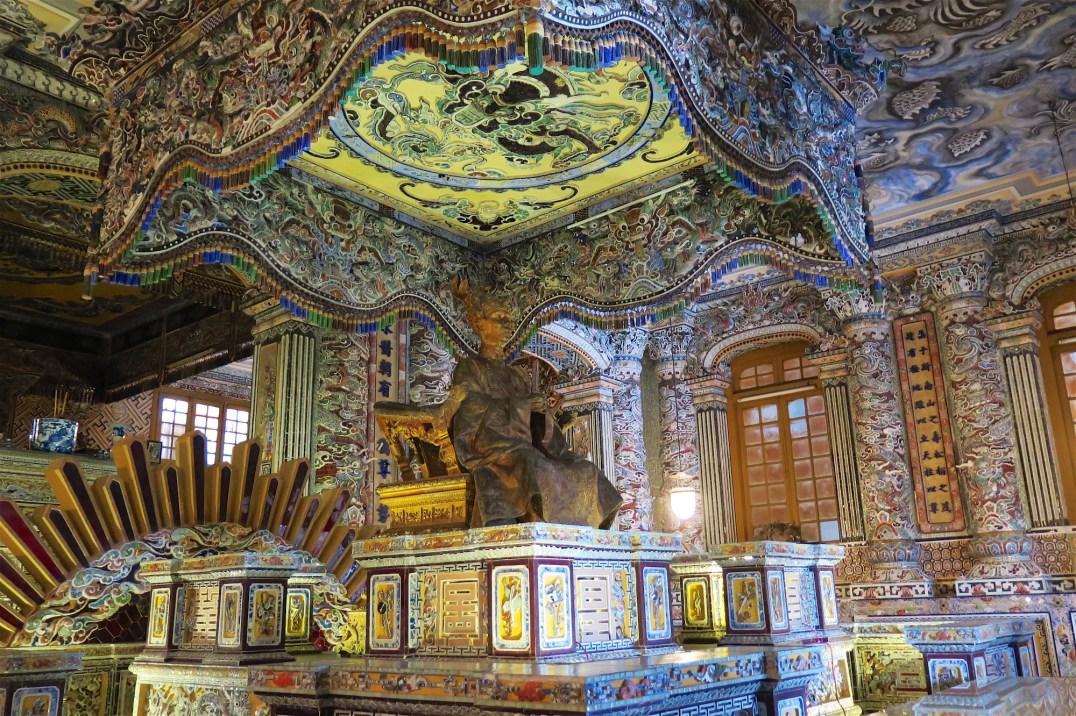 Mausolée Khai Dinh Hue Vietnam blog voyage 2016 15