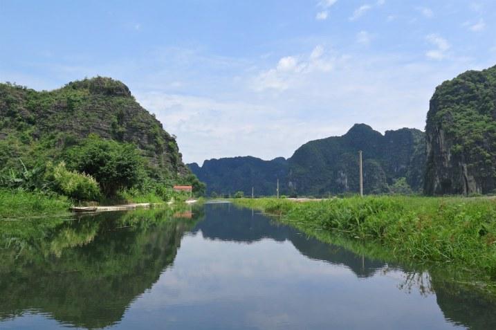 Balade barque Tam Coc Baie Halong terrestre Vietnam blog voyage 2016 4