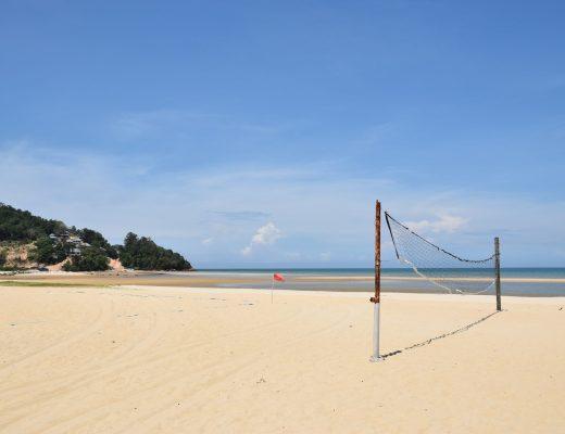 Beach volley Cherating Malaisie blog voyage 2016 10