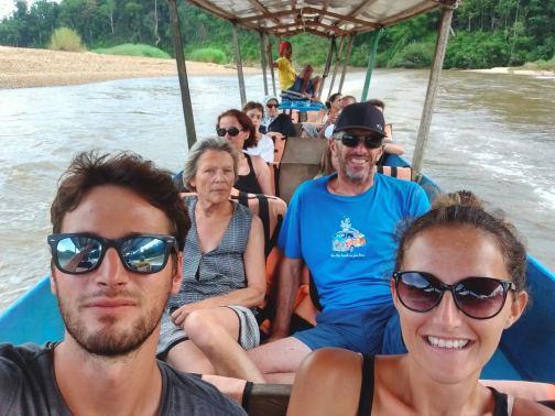 Pirogue Taman Negara Bilan Malaisie blog voyage 2016 3