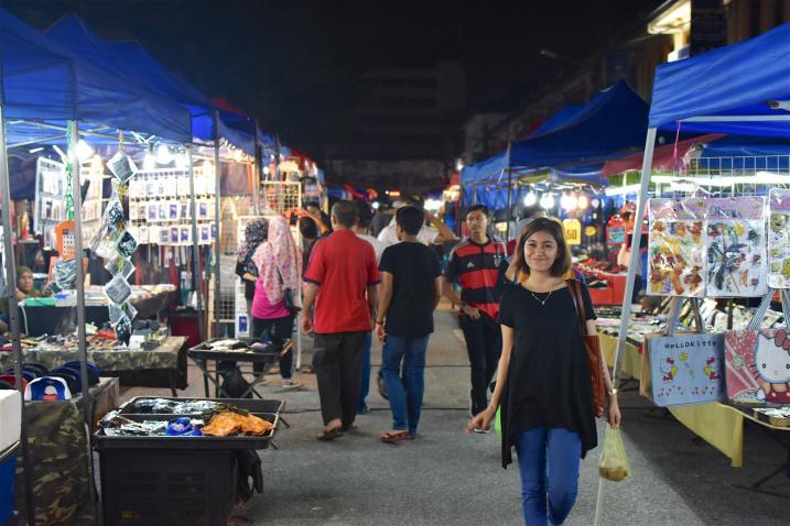 Marché Ipoh Kuala Kangsar Malaisie blog voyage 2016 1