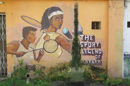 Street Art Ipoh Kuala Kangsar Malaisie blog voyage 2016 14