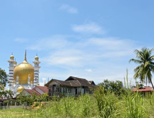 Mosquée Ubudiah Ipoh Kuala Kangsar Malaisie blog voyage 2016 24