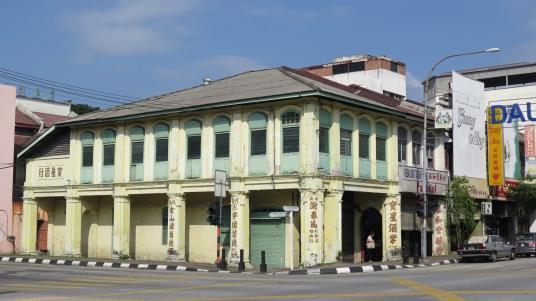 Maisons chinoises Ipoh Kuala Kangsar Malaisie blog voyage 2016 8