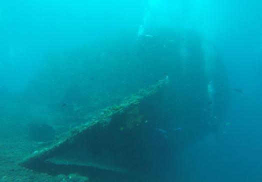 Plongée sur le Liberty #2