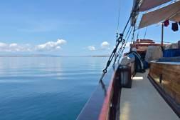 Navigation dans la pétole