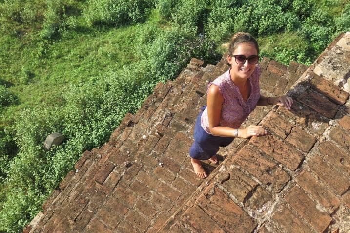 Montée temple Decouverte-Bagan-Myanmar-Birmanie-blog-voyage-2016 70