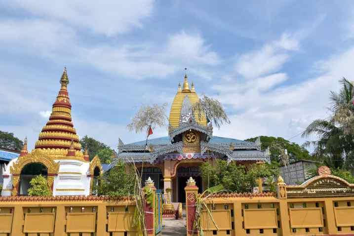Temple hindouiste Hsipaw Myanmar blog voyage 2016 3