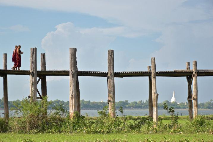 Moines U-bein Mandalay-Inwa-Ubein-Myanmar-Birmanie-blog-voyage-2016 62