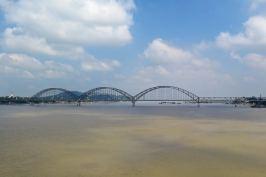 Vue sur le second pont, le Yadanabon