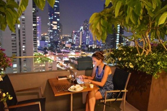 Terrasse Amara Bangkok-fin-voyage-blog-voyage-2016 15