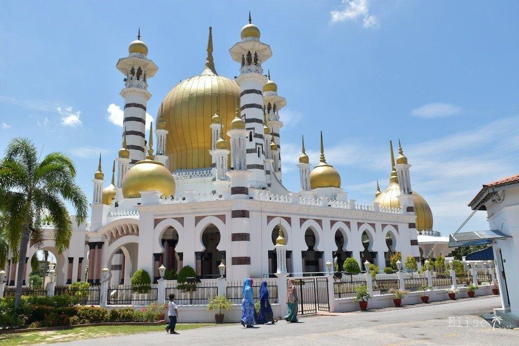 Kuala Kangsar Mosquée Bilan voyage Asie coups de coeur 11