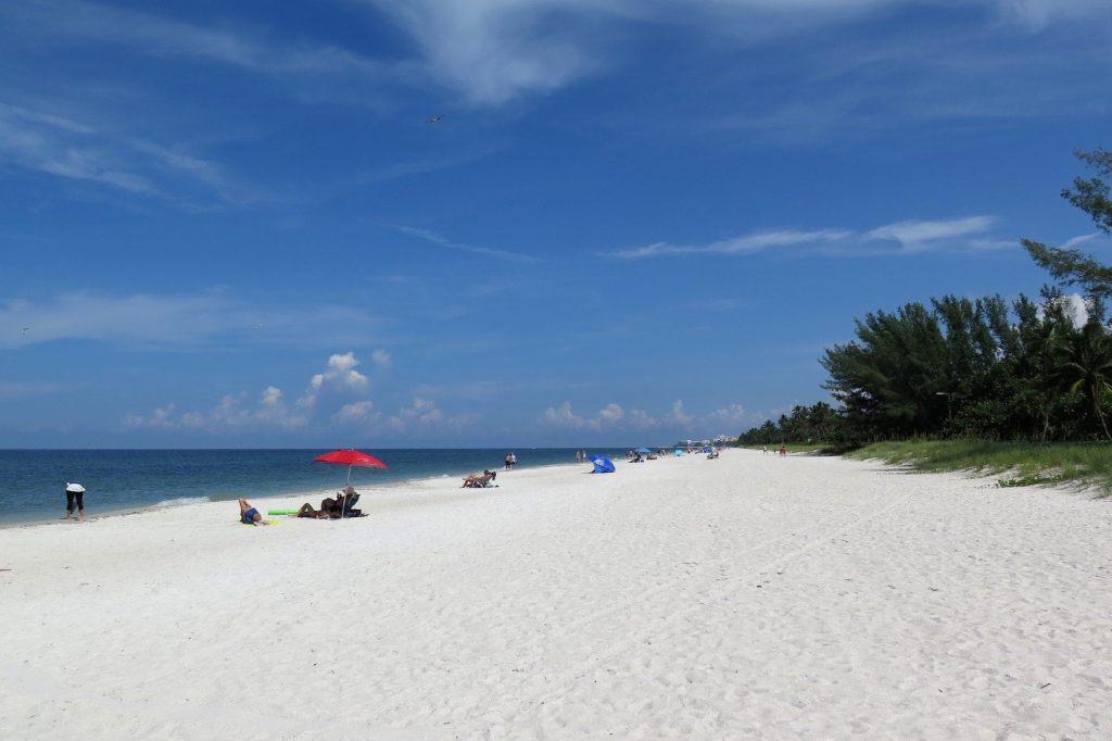 Naples Beach Un an Floride blog voyage 2019 16