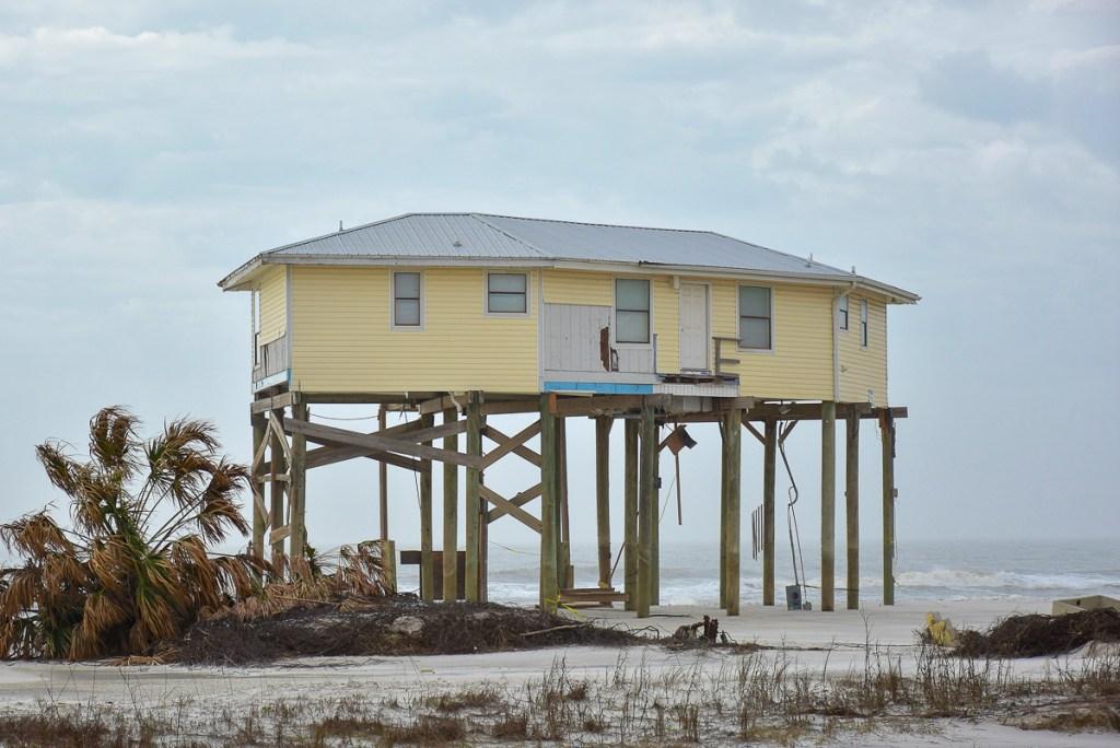 Les dégats de l'ouragan Michael autour de St Joseph #4