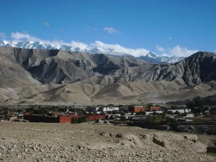 Upper mustang travel destination in Nepal