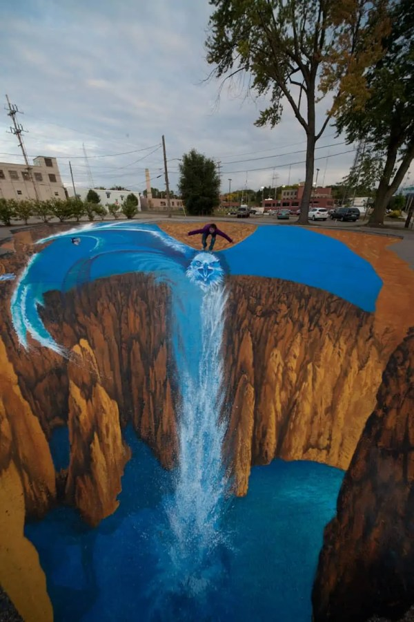 Inspiring And Creative 3d Painting Arts