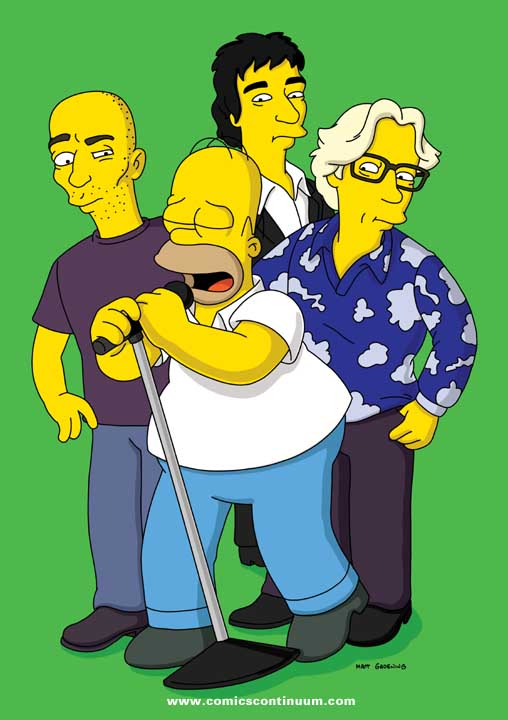 REM a The Simpsons