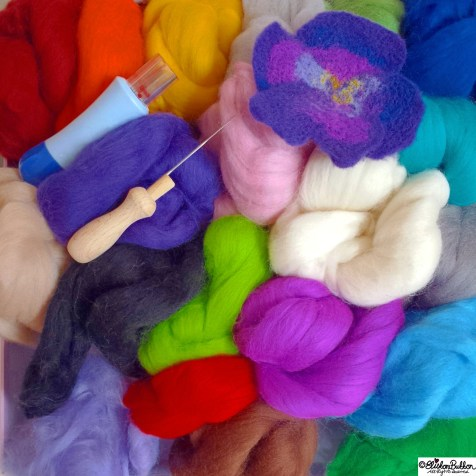 Day 06 - F is for..Felting